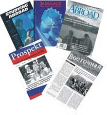 Publications in foreign press about ProBa
