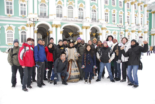 group excursions in St Petersburg